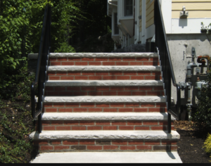 Memphis Brick or Stone Step Installation
